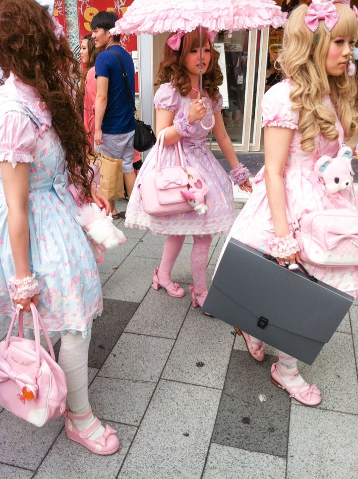 Lolita fashion en Shinjuku class=