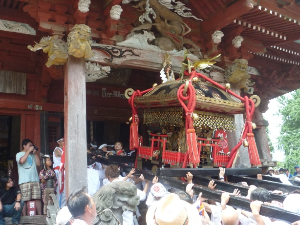 Matsuris y la fertilidad, mikoshis penetrando santuarios class=