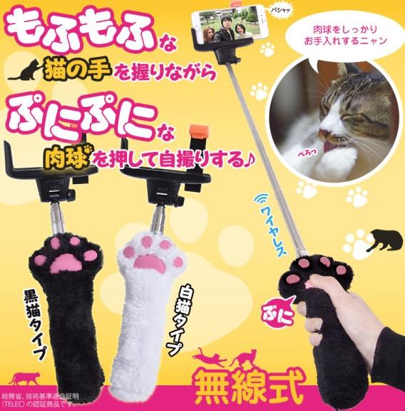 Selfies con patas de gato class=
