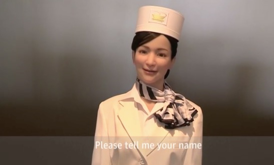Hotel atendido solo por robots class=