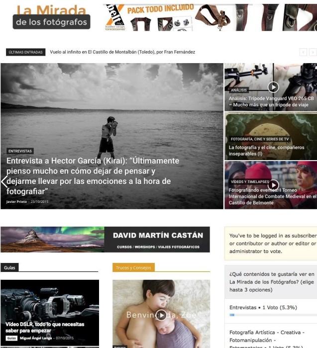 Entrevista en La Mirada de los fotógrafos class=