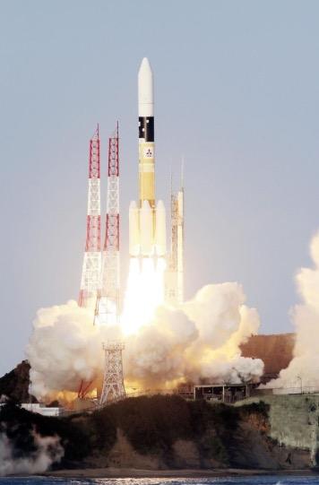Primer lanzamiento comercial con cohetes H2A class=