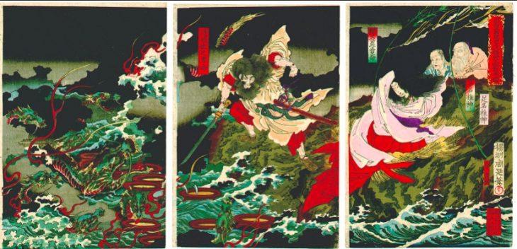 La serpiente de ocho cabezas – Yamata no Orochi 八岐の大蛇 class=